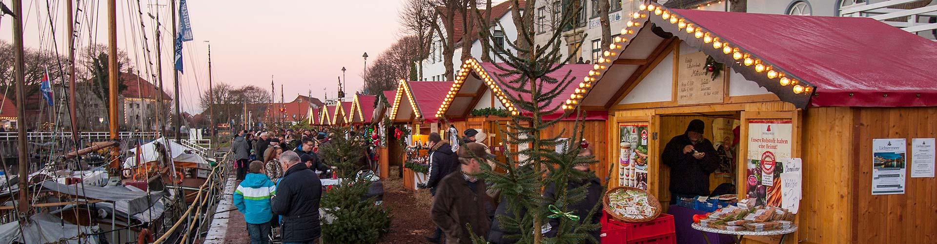 Der Wintermarkt in Carolinensiel