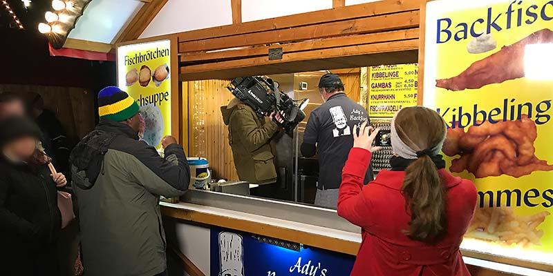 RTL Nord auf dem Wintermarkt